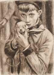 ragazzo con cane