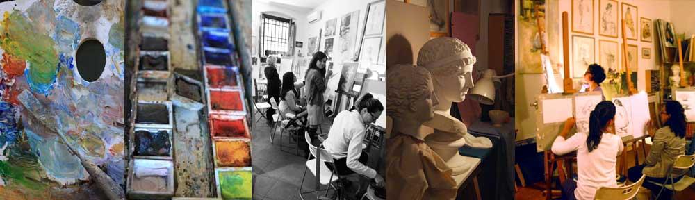 corso di disegno e pittura per adulti a firenze