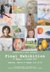 Final exhibition of the students